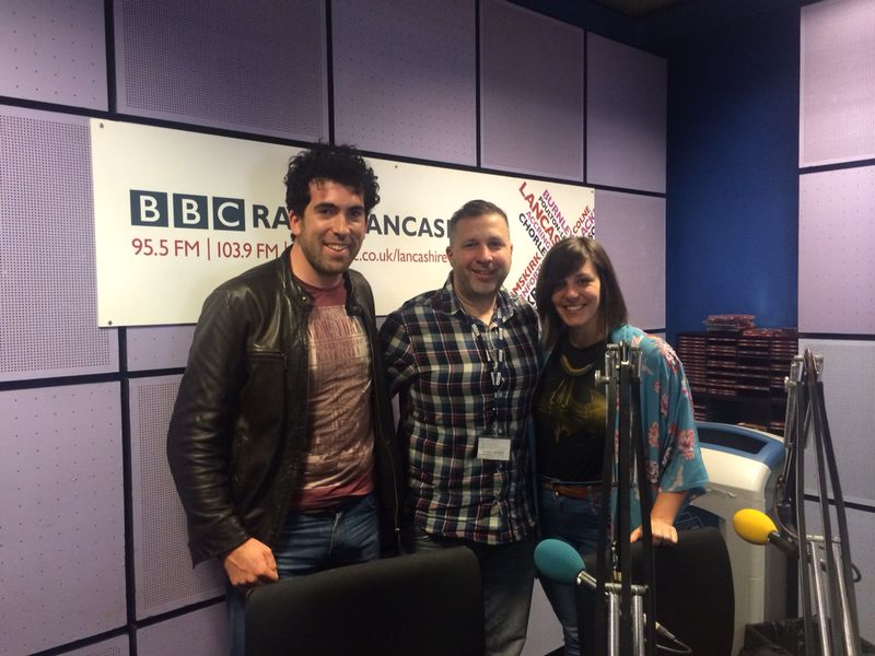 Radio Lancashire Interview & first play of new single!